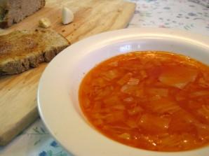 Постный суп из капусты - фото шаг 7