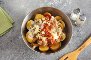 Картофель на мангале - фото шаг 4