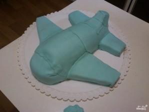 Торт в виде самолета - фото шаг 10