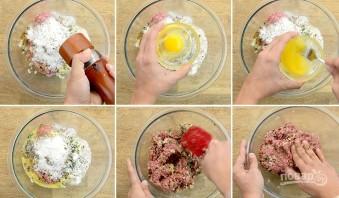 Греческие фрикадельки из баранины - фото шаг 2