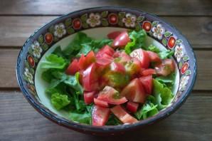 Салат с фетаской и курицей - фото шаг 3