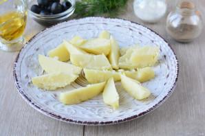 Картофельный салат с анчоусами - фото шаг 2