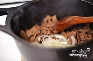 Бефстроганов из говядины - фото шаг 7
