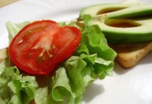Легкие бутерброды на день рождения - фото шаг 3