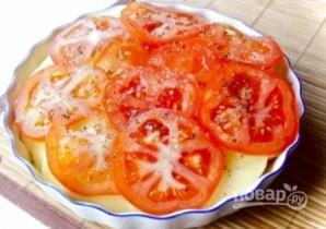 Картофельная запеканка с помидорами и сыром - фото шаг 4