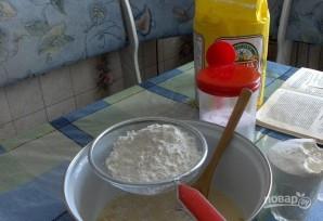 Блинчики ажурные на молоке - фото шаг 2