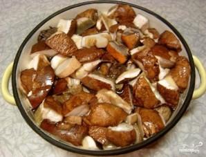 Икра из белых грибов - фото шаг 2