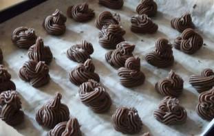Шоколадно-ванильное печенье - фото шаг 2