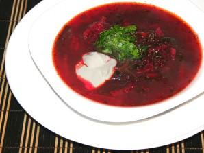 Свекольник рецепт классический с мясом - фото шаг 6