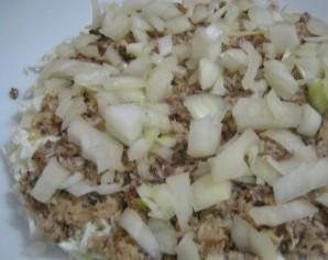 Салат с рыбой и рисом - фото шаг 2