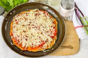 ПП пицца на сковороде - фото шаг 9