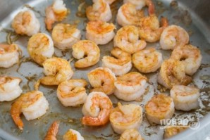 Фетучини с морепродуктами - фото шаг 2