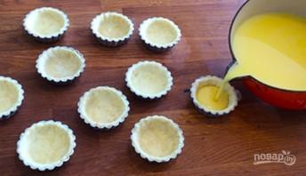 Яичный тарт (тарталетки) - фото шаг 6
