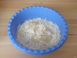 Заварное тесто на дрожжах - фото шаг 5
