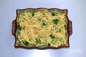 Запеканка из макарон с брокколи - фото шаг 9