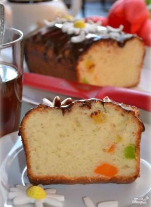 Творожный кекс с цукатами  - фото шаг 5