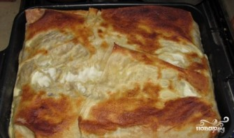 Пирог из тонкого лаваша  - фото шаг 7