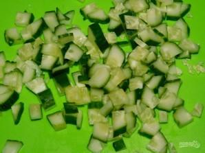 Грибной салат с пекинской капустой - фото шаг 3