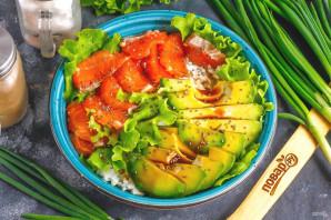 Боул с лососем и авокадо - фото шаг 6