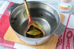 Маринованные баклажаны с чесноком и луком - фото шаг 3