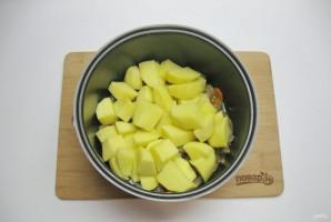 Желудки с картофелем в мультиварке - фото шаг 6