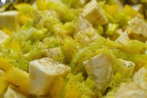 Запеченный сельдерей с соусом из авокадо - фото шаг 9