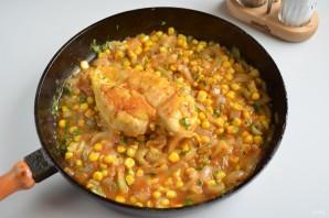 Курица с куркумой в кисло-сладком соусе - фото шаг 5