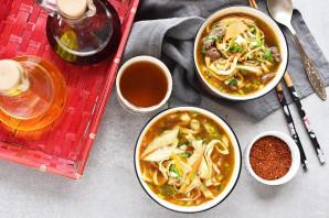 Корейский суп - фото шаг 12