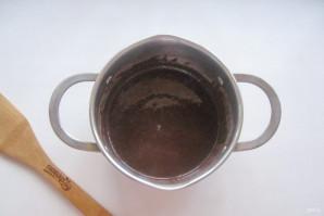 Шоколадный шифоновый бисквит - фото шаг 4
