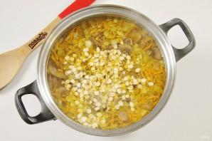Овсяный суп с грибами - фото шаг 7