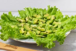 Салат из креветок с грейпфрутом и авокадо - фото шаг 5