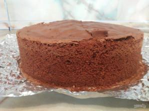 Шоколадный бисквит на темном шоколаде - фото шаг 13