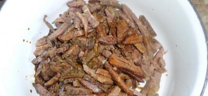 Салат китайский с говядиной - фото шаг 1