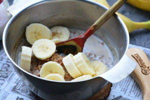 Гречка с бананом - фото шаг 6