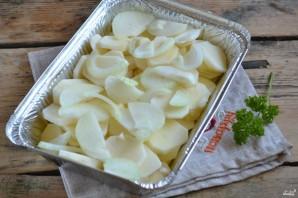 "Картошка под соусом ""Бешамель"" - фото шаг 2"
