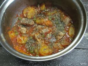 Мясо, тушеное в томатном соусе (Spеzzatino al pomodoro) - фото шаг 7