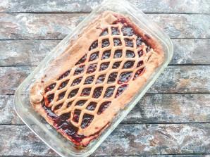 Пирог с творогом и повидлом - фото шаг 9