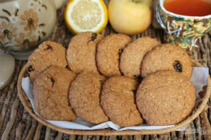 Овсяное печенье с цельнозерновой мукой - фото шаг 8