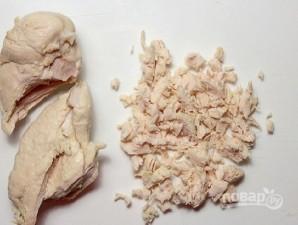 Свекольный салат с курицей - фото шаг 2