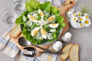 Салат со сметаной - фото шаг 6