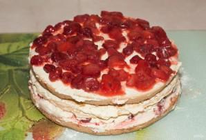 Торт с кремом из сливок - фото шаг 25