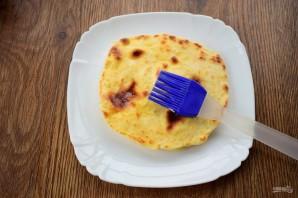Кузикмяк (сытная лепешка с картофелем) - фото шаг 7