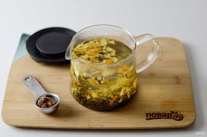 Мандариновый чай - фото шаг 5