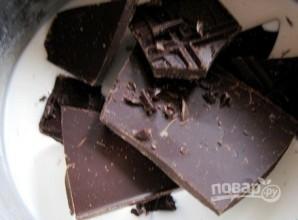 Шоколадный трюфельный торт - фото шаг 4