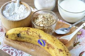 Овсяное печенье на кефире с бананом - фото шаг 1
