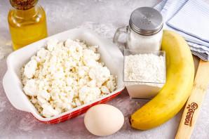 Сырники без сахара с бананом