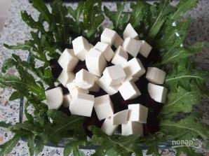 Салат со свеклой и брынзой - фото шаг 6