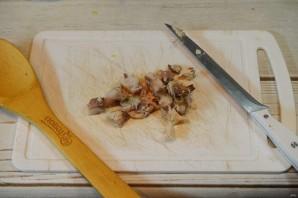 Оливье со скумбрией - фото шаг 1