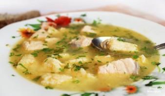 Рыбный суп из кижуча - фото шаг 5