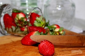 Клубнично-персиковый Дайкири - фото шаг 1